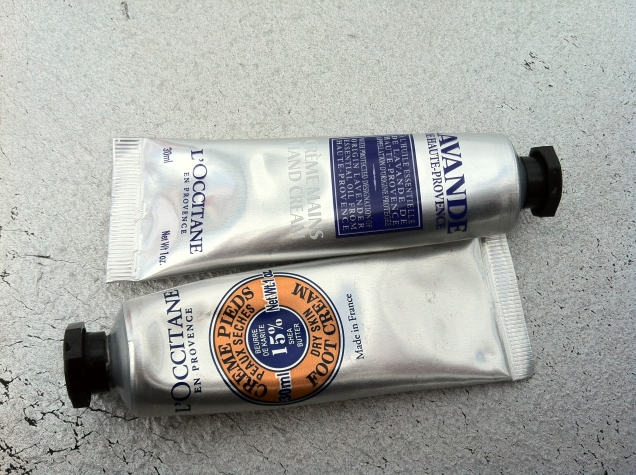l'occitane hand and foot creme