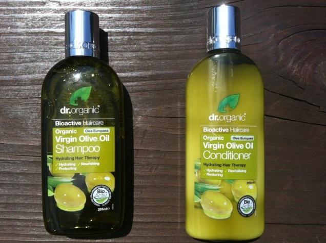 Dr. Organic Virgin Olive Oil Shampoo Conditioner