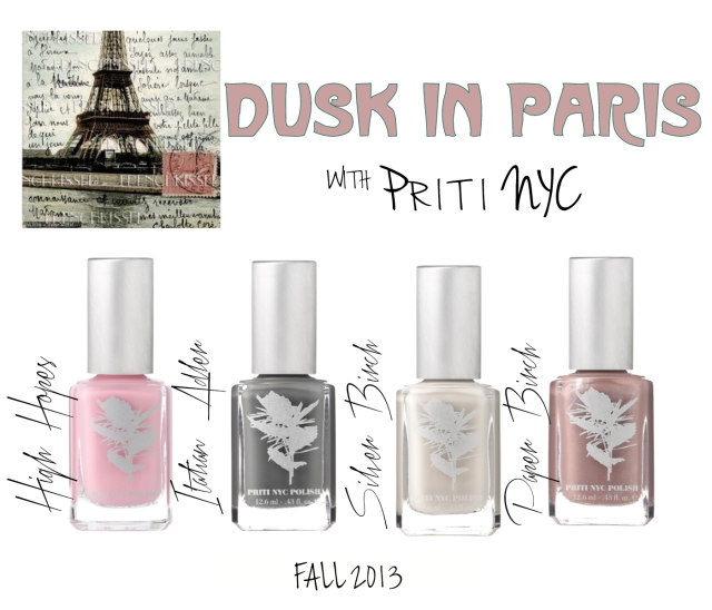 Fall 13 Dusk in Paris Mini Card